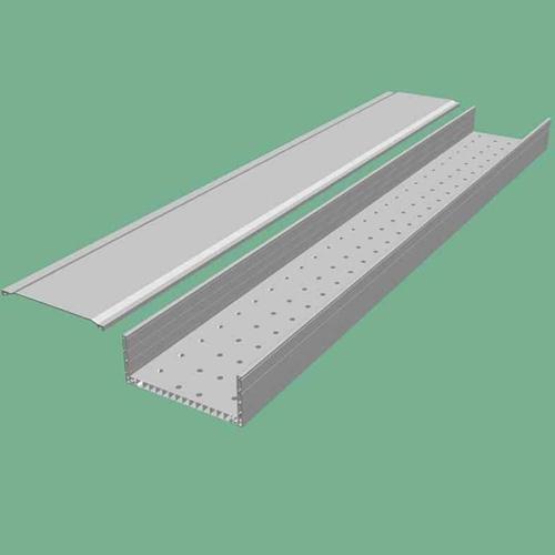 托盘式电缆桥架施工